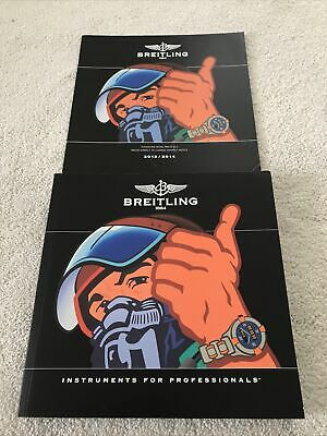 £15 • Buy BREITLING CHRONOLOG 2014 Catalogue  With 2013/2014 With Price List