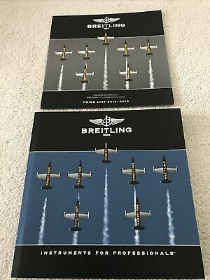 £15 • Buy BREITLING CHRONOLOG 2013 Catalogue With 2012/2013 Price List