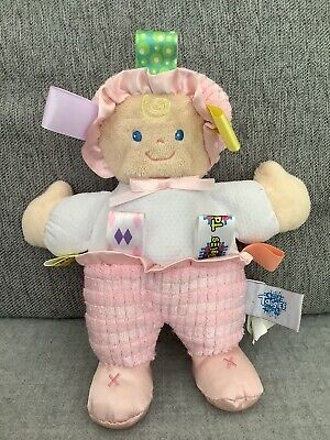 """£6.99 • Buy Mary Meyer Baby Taggies Doll Comforter Soft Toy 8"""" Vgc"""