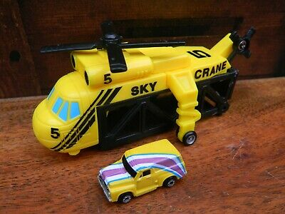 £29.95 • Buy Micro Machines Super Carriers Copter Carrier Sky Crane With Van Galoob