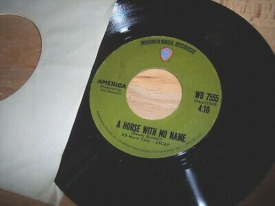 £1.44 • Buy NM America A Horse With No Name / Everyone I Meet Is From Cal 7  45RPM W/ppr Slv