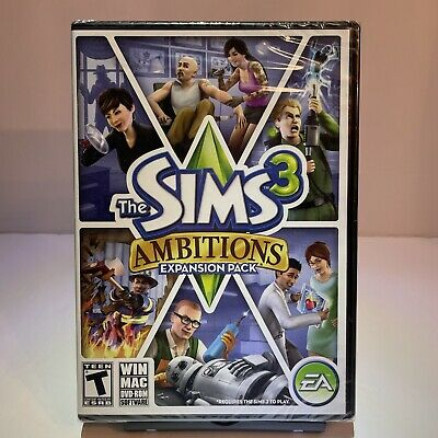 £13.44 • Buy The Sims 3: Ambitions Windows/Mac PC 2010 Expansion Pack Brand New Sealed