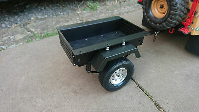 £75 • Buy  1/10 Scale Trailer For RC Crawler TRX-4 Axial SCX10 RC4WD Etc