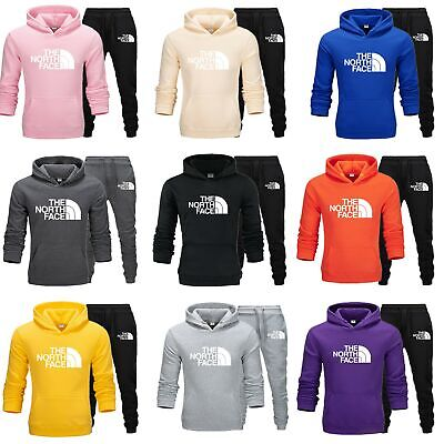 £21.99 • Buy The North Face Mens Sets Hoodie Pants Casual Tracksuit Sportswear Gym Sweat Suit