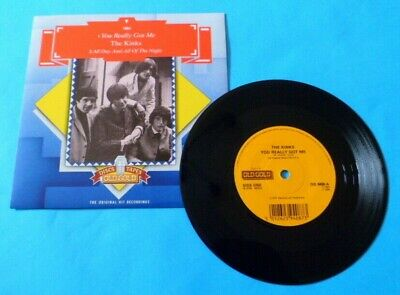 £12.74 • Buy THE KINKS - YOU REALLY GOT ME  7  45RPM Vinyl Single OLD GOLD Record