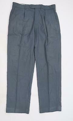 £8 • Buy Taylor & Wright Mens Blue   Trousers  Size 34 L33 In