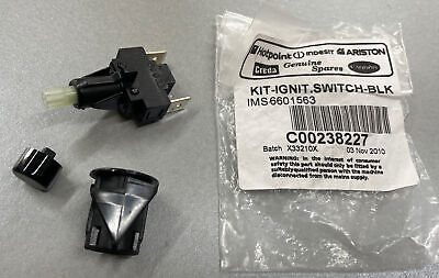 £15 • Buy Genuine Hotpoint Cooker Ignition Switch Kit - C00238227