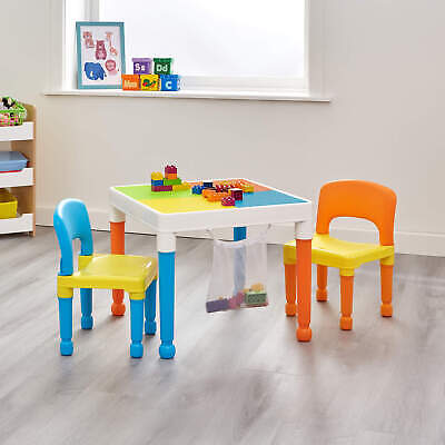 £47.99 • Buy Multipurpose 3-in-1 Activity Table And Chairs Set