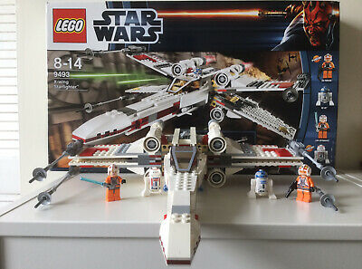 £59.99 • Buy LEGO Star Wars X-wing Starfighter (9493) With Box + Instructions
