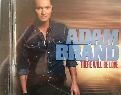 AU3.50 • Buy ADAM BRAND - There Will Be Love CD 2012 Sony AS NEW!