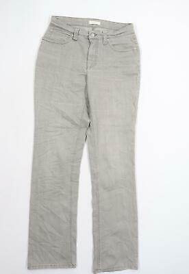 £8 • Buy MAC Womens Grey   Straight Jeans Size 34 L32 In