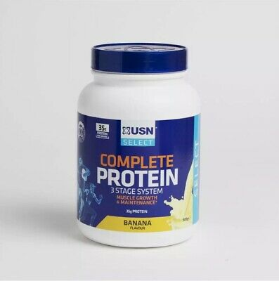 £22.79 • Buy USN Complete Protein 3 Stage System Muscle Growth & Maintenance 900g