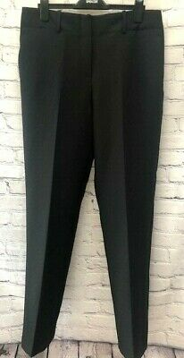 £11.99 • Buy  Ex M&S Relaxed Straight Leg Trousers Black Sizes 14-20  RRP £35 *NEW* (69)