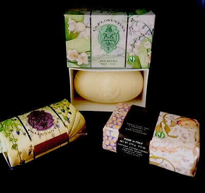 £9.99 • Buy Italian Soaps Lavender / Lily Of The Valley & Wild Camomile & Lavender🌸 New