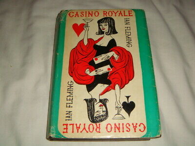 £450 • Buy CASINO ROYALE - Ian Fleming 1st Edition 1st/7th 1962 - First Edition James Bond
