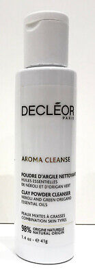 £10.95 • Buy Decleor Aroma Cleanse CLAY CLEANSING POWDER 41G NEW To Cleanse, Purify & Matiffy