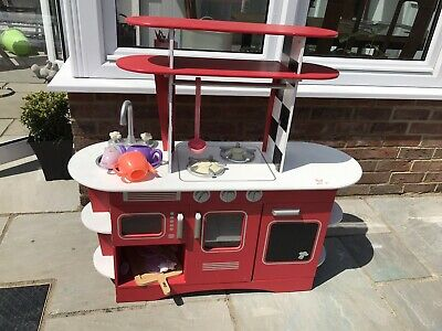 £16 • Buy Elc Play Pretend Wooden Kitchen Red And White