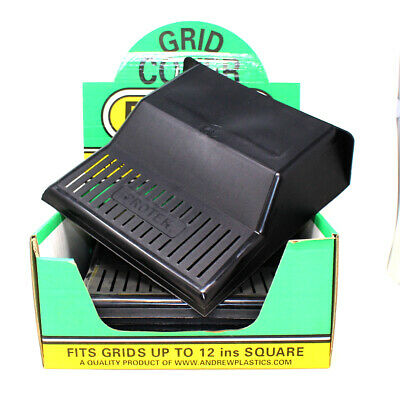 £12.99 • Buy *SPECIAL OFFER* TWIN PACK OF PROTEK DRAIN COVERS 30 X 30 X 9cm BLACK PLASTIC