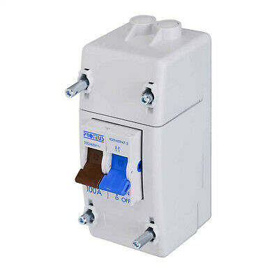 £12.95 • Buy Proteus 100A Double Pole Electricity Meter Isolator Switch