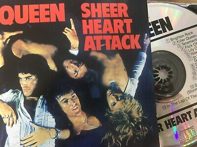 £9.26 • Buy QUEEN - Sheer Heart Attack CD 1993 Parlophone / EMI Holland AS NEW!