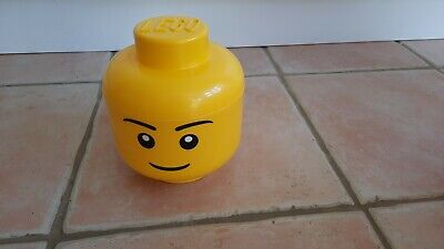 £7.99 • Buy Lego Small Yellow Storage Head 7 Inches High 6 Inch Wide