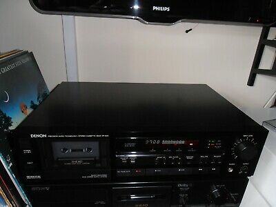 £175 • Buy Denon DR-M20 3 Head Stereo Cassette Deck, Refurbished VGC Dolby B/C & MPX