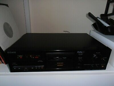 £185 • Buy Sony TC-K511S 3 Head Stereo Cassette Deck, Refurbished VGC Dolby S/B/C & MPX