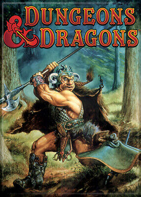 AU31.46 • Buy Dungeons And Dragons Monster Manual 2nd Edition 3.5 X 2.5 Magnet