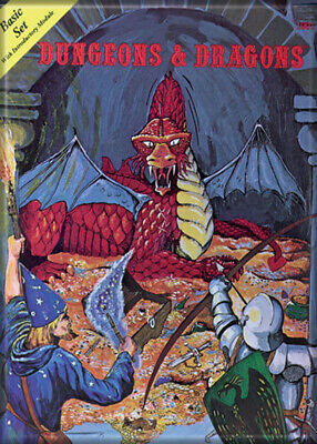 AU31.46 • Buy Dungeons And Dragons Basic Set 3.5 X 2.5 Magnet