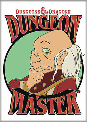 AU31.46 • Buy Dungeons And Dragons Dungeon Master 3.5 X 2.5 Magnet
