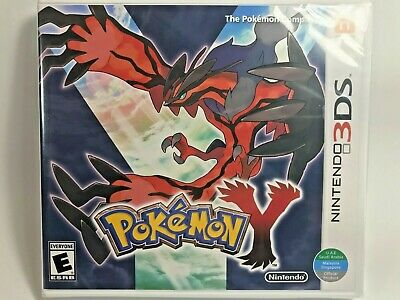 $53.20 • Buy Pokemon Y - Nintendo 3DS World Edition Brand New Factory Sealed FREE SHIPPING!