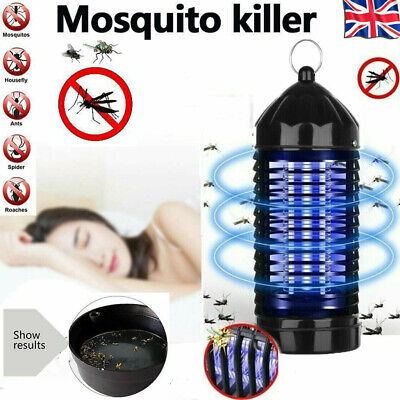 £7.99 • Buy Electric Mosquito Killer Lamp LED UV Fly Bug Insect Pest Repellent Zapper Trap