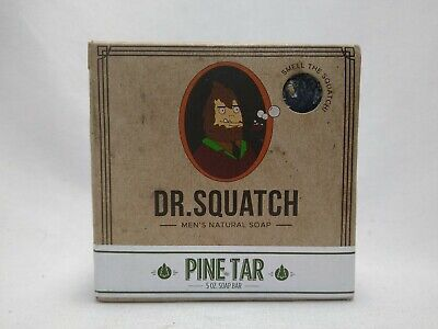 £8.49 • Buy Squatch Pine Tar Bar Dr Squatch Soap Co. All Natural