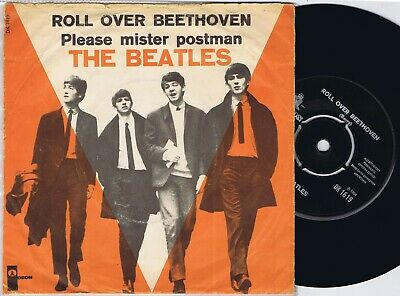 £9.17 • Buy THE BEATLES Roll Over Beethoven Danish 45PS 1964. New Dome Logo