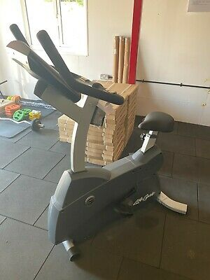 £650 • Buy Life Fitness C1 Upright Bike With Go Console