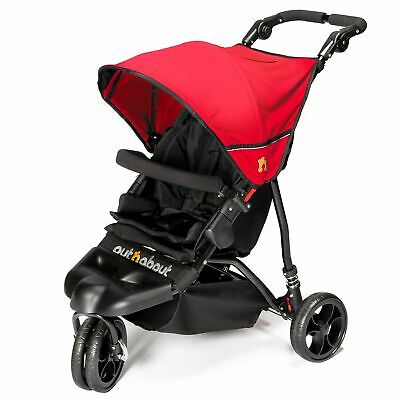 £191.23 • Buy Out N About Little Nipper Buggy Pushchair Stroller Poppy Red