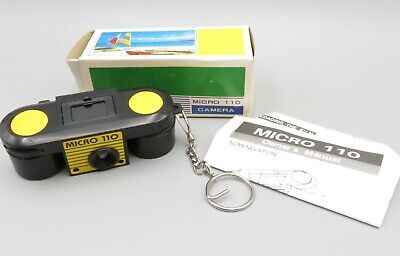£5.81 • Buy Vintage Micro 110 Camera Key Chain NEW Old Stock