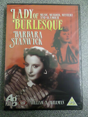 £3.99 • Buy Lady Of Burlesque - Barbara Stanwyck - Dvd - (new & Sealed)