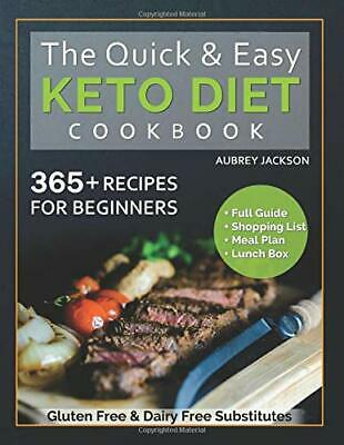 $6.95 • Buy The Quick & Easy Keto Cookbook: For Beginners, 365 Recipes... By Jackson, Aubrey