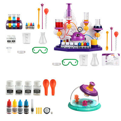 AU25.60 • Buy Chemistry Science Experiment Kit Play Science Lab Stem Educational Toys