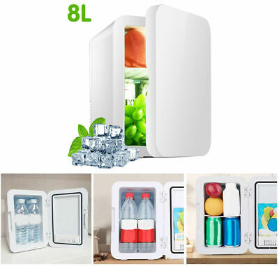 AU56.99 • Buy 8L Portable Mini Fridge Table Top Electric Small Cooler Bedroom Ice Box Office D