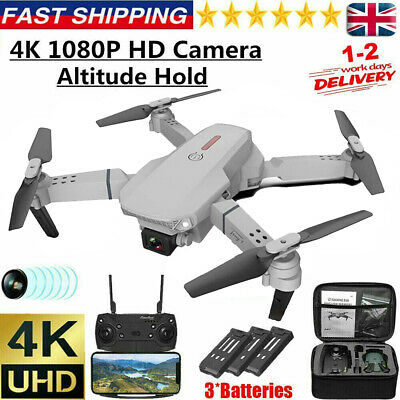 £29.99 • Buy 2021 Drone RC Drones Pro 4K HD Camera GPS WIFI FPV Quadcopter Foldable Bag Gifts