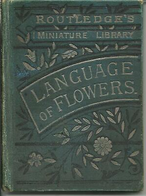 £32.09 • Buy Victorian  Book - Routledge Miniature Library  Language Of Flowers  1896