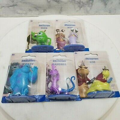 £14.15 • Buy Monsters Inc. Lot Of 5 Figures Character Cake Toppers Sully Mike Boo Roz Randall