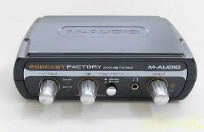 $89.10 • Buy M-Audio Podcast Factory Professional Podcasting Solution From Japan