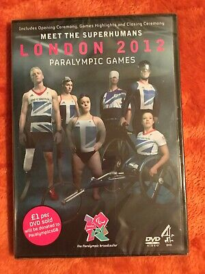 £4.99 • Buy The London 2012 Paralympic Games DVD (New And Sealed)