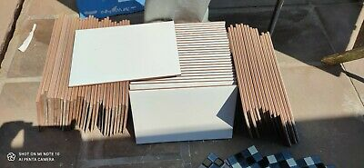 £25 • Buy Wickes 20 X 30 Cm White Bevelled Edge Tiles New But No Boxes - Apx 4 Sqr Metres