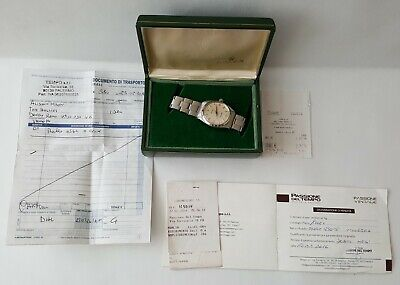 $ CDN4469.18 • Buy Men's Vintage 1958 Stainless Steel Rolex Oyster Perpetual + Boxed