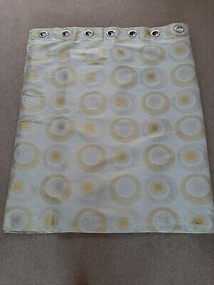 £15 • Buy Eyelet Curtains Used 90 Inches X 54 Drop