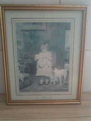 £10 • Buy Puppy Love Picture By Charles Burton Barber (1836-1983)